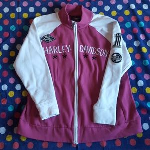 Harley Davidson fleece jacket size 3X